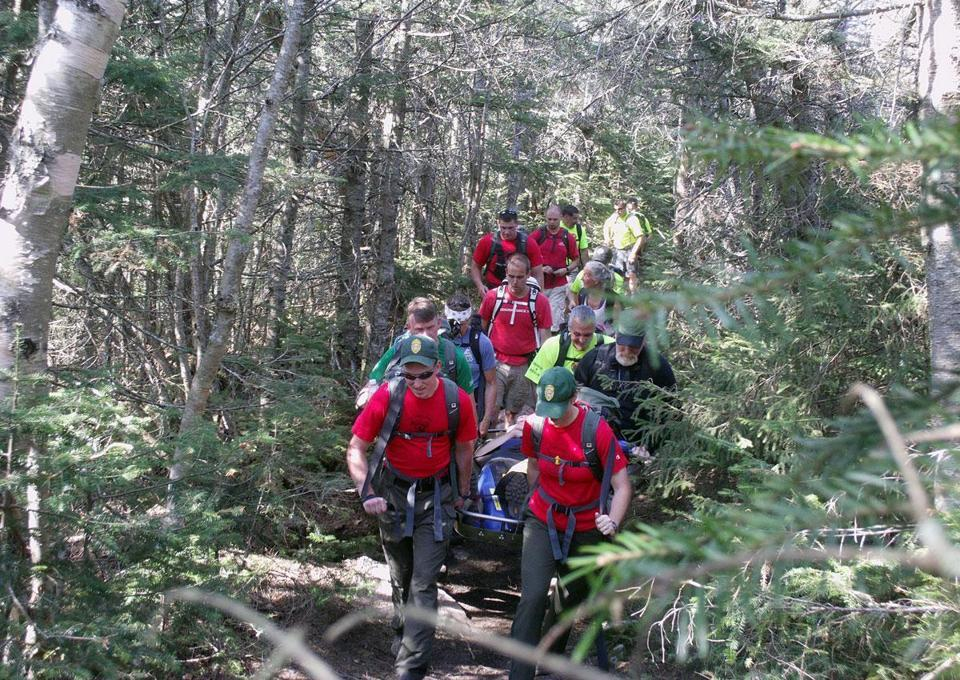 Reliance on smartphones leaving hikers in a bind  Officials say more hikers are skipping basic gear and relying too heavily on phones with GPS and a slew of gear-like apps to bail them out of a jam. (JOHN HANSEN/PEMIGEWASSET VALLEY)