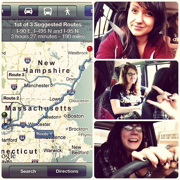 MAINE BOUND (Taken with Instagram)