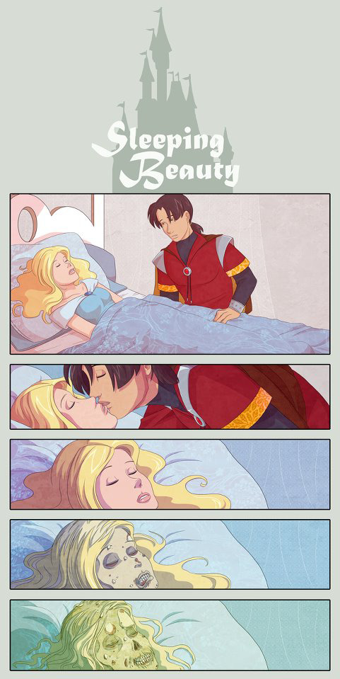 Twisted Fairy Tale: Sleeping Beauty by Shira-Chan