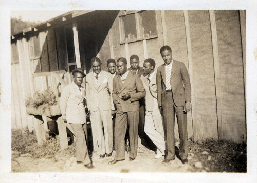 Roosevelt & The Fellas 1930's [Franklin Family Album] ©WaheedPhotoArchive, 2012