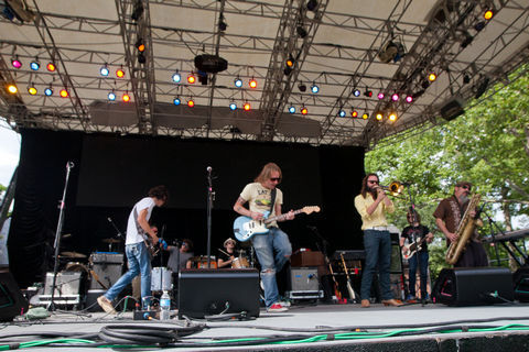 Diamond Rugs killed it in Central Park yesterday. Here are some photos via Brooklyn Vegan.