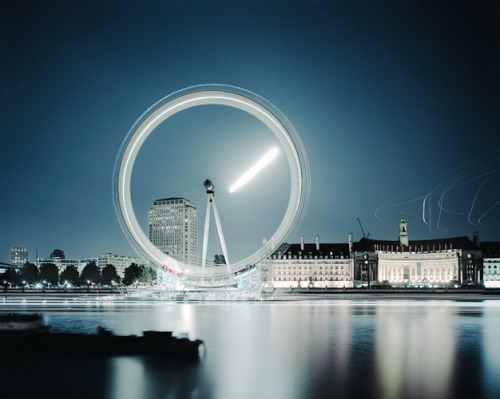 London Eye (Moonrise), London, 2006 Guy Sargent