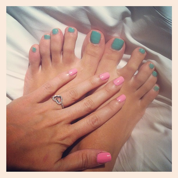 So Girly 💘💅 (Taken with Instagram at Bliss Spa at W Hong Kong)