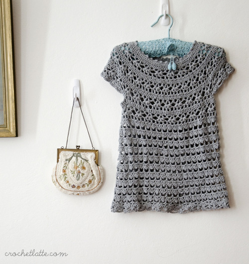 ingridmatthews:  2nd Birthday Dress (by crochetlatte) pdf pattern