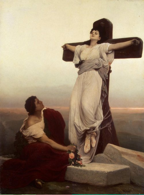 Christian Martyr on the Cross (St Julia)Max Gabriel Cornelius vonHermitage Museum