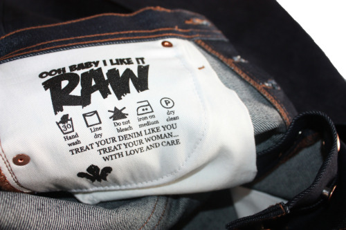 Yes baby, we like it raw!