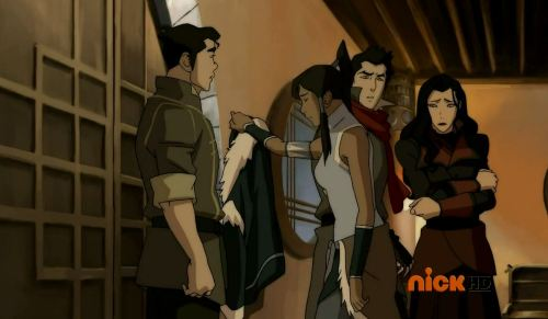ryuclockwork:  One of the many instances from the finale in which my Borra heart hoped. …Of course, nothing ever happened.  Mako: Bo, don't you dare