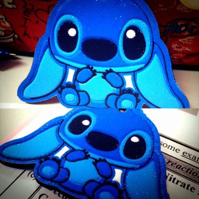 @jaclynxy 's super cute #stitch 💙  (Taken with Instagram)