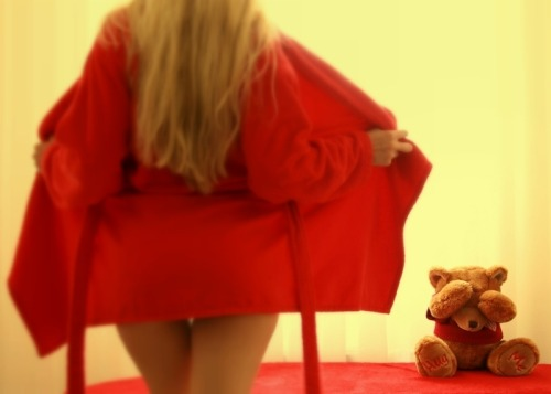 pedalfar:  My Teddy is Shy by *Slawa on deviantART