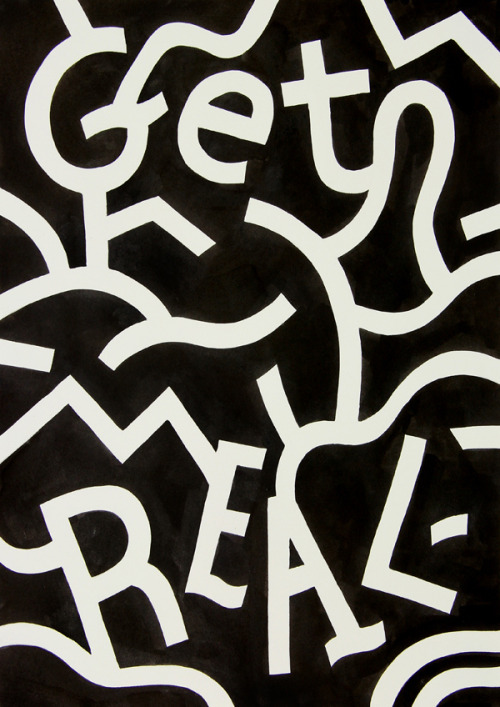 my-tumblrisbetterthanyours: Get Real —— Andy Rementer @flickr.com