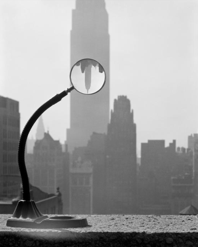 "luzfosca:  Erich Hartmann ""Empire State Building"", New York City, 1949 Thanks to beconinriot"