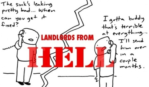 torontostandard:  Your Landlord Horror Stories: Illustrated