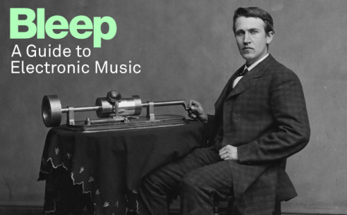 prostheticknowledge:  Bleep's Guide To Electronic Music  The online music store set up by respected Warp Records have put together a 55 track history of electronic music from Olivier Messiaen, John Cage, up to Burial, J Dilla and James Blake:  Bleep's guide to Electronic Music is a 55 track compilation charting the historical emergence of electronic music by looking at landmark tracks from the 1930s up to present day. Our aim with this selection of music is to show the length and breadth of the medium, providing a snapshot of the genres forms and styles, and the development of the artform. Whilst there are omissions and compromises that we have had to make, we hope that we achieve our aims and we do some justice to the variety of music that we love.  This compilation developed out of a project to create a Facebook timeline charting the development of electronic music from the late 19th Century until now.   More info here