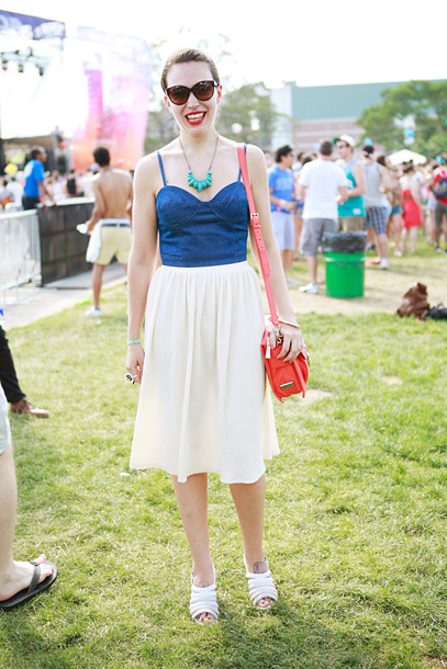 Street Style From the Governors Ball Music Festival (Source: NY Mag)