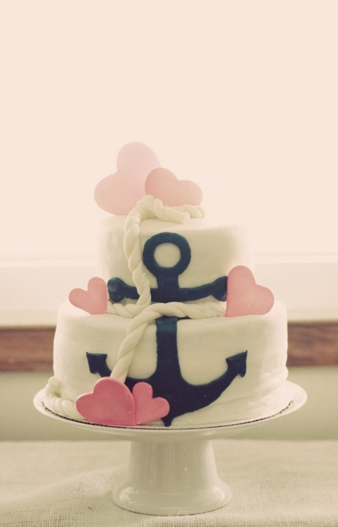 One of the most adorable wedding cakes of all time <3