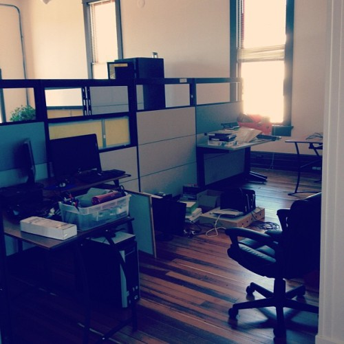 Moving day! (Pris avec Instagram à Studio Ace of Spade headquarters)
