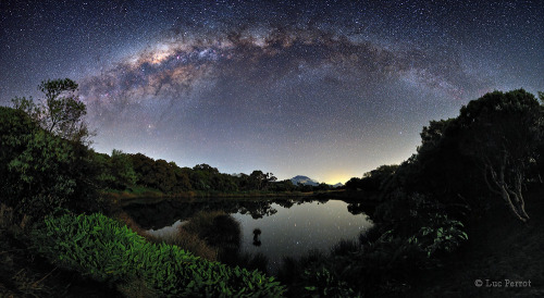Milky Way over Reunion Island