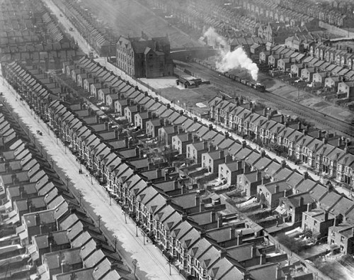guardian:  March 1921: Densely packed housing along Kensal Rise, London  Photograph: English Heritage/PA  Thousands of aerial images of some of Britain's most recognisable landmarks have been made available on the internet after a painstaking conservation process. Offering an insight of the country during the first half of the 20th century, many of the pictures were taken by first world war veterans, who experts say had 'specialist skills' for capturing images from the air