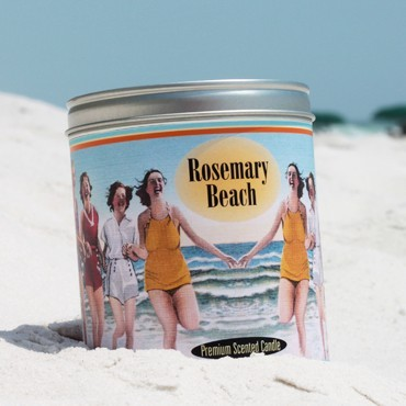 """Rosemary Beach"" Scented Candle"