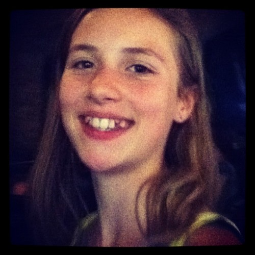 Day 2: Someone I love, my cousin Daniella  (Taken with Instagram at Disneyland)