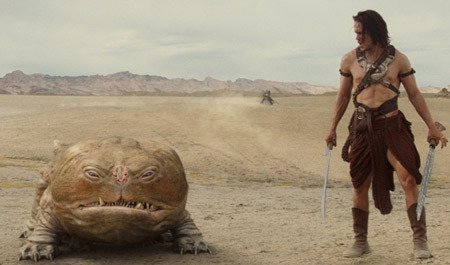 John Carter just became one of my favorite movie. And it was mostly because of Woola! But really, the movie was pretty awesome.