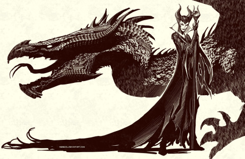 birdstump:  Maleficent, by Stjepan Sejic