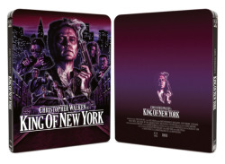 Arrow Video's debut Steelbook is out today! Staring Christopher Walken, this simply stunning release of King of New York is the best you'll ever see it! In glorious high-def and packed with special features, this NEEDS to be in your collection! http://www.amazon.co.uk/Limited-Edition-SteelBook-Format-Blu-ray/dp/B0076W0BAE/ref=sr_1_1?s=dvd&ie=UTF8&qid=1340635728&sr=1-1