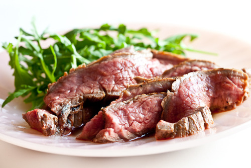 foodopia:  orange ginger flank steak: recipe here
