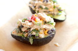 foodopia:  creamy avocado chicken salad: recipe here