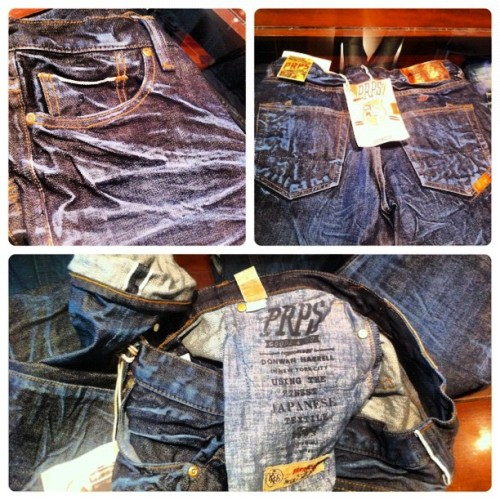 #prpsgoods #prps #denim #selvedge  #fashion  (Taken with Instagram at denim bar)