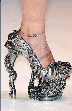 I'd love these shoes #Giger #shoes #heels
