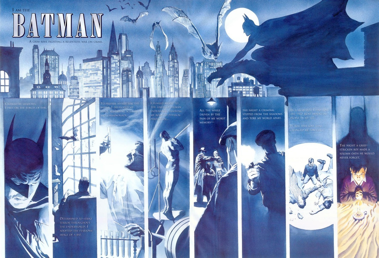 El origen de Batman por Alex Ross
