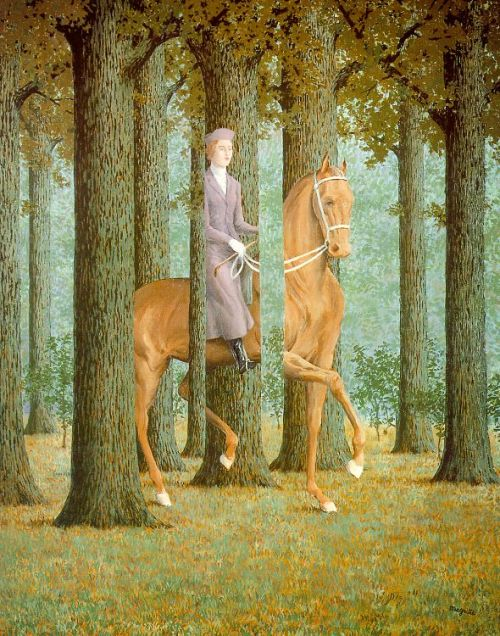 René Magritte, The Blank Cheque, 1965