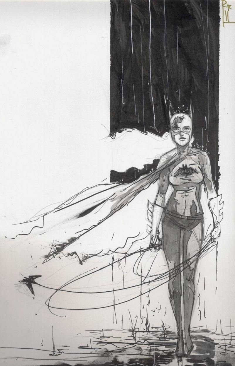 lulubonanza:  Drawn By Riley Rossmo      Site