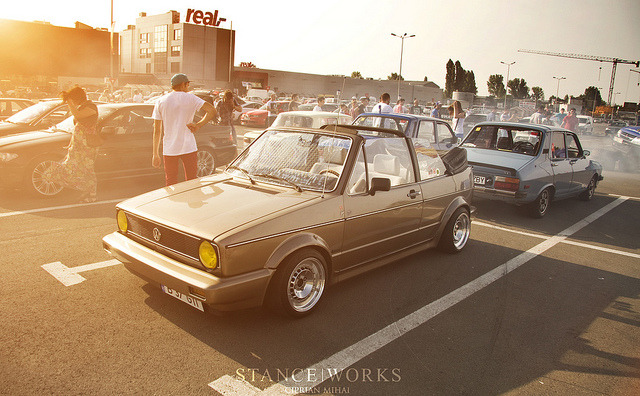 renegaderoadster:  VW Golf Mk1 Cabriolet by CiprianMihai on Flickr.