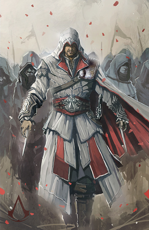 littlerenaissancedavinci:  Assassin's Creed Brotherhood by ~longai
