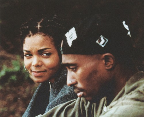 1992 with Janet Jackson in Poetic Justice