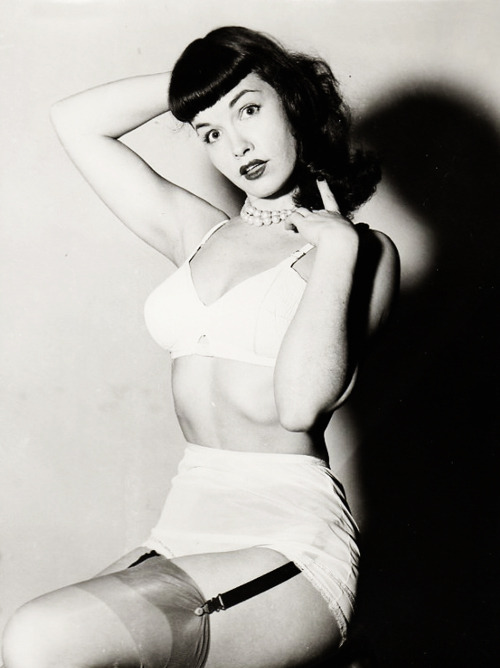 vintagegal:  Bettie Page