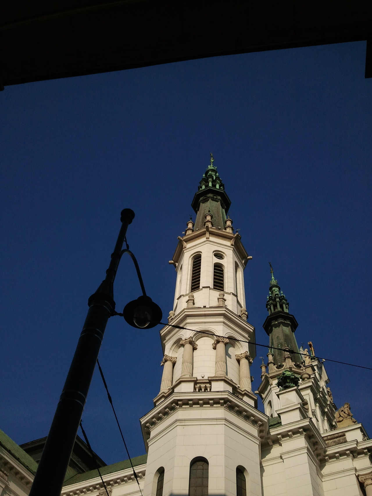 Above us only sky.  Warsaw, church of the Holiest Saviour  [20.06.2012]