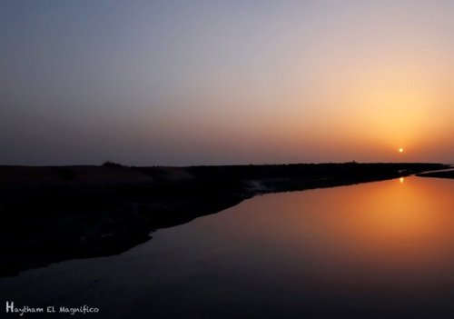 Sunset#canon #kuwait #landscape #nature #nikon #streams #photography #streamzoo #sunset #wide(from @elmagnifico on Streamzoo)