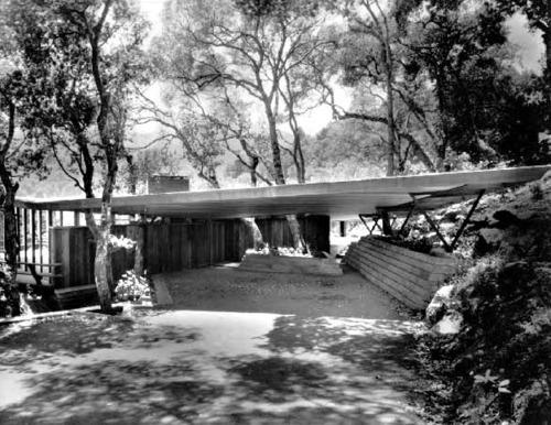 wmud:  jack hillmer and warren callister - hall house, kentfield, ca, 1947