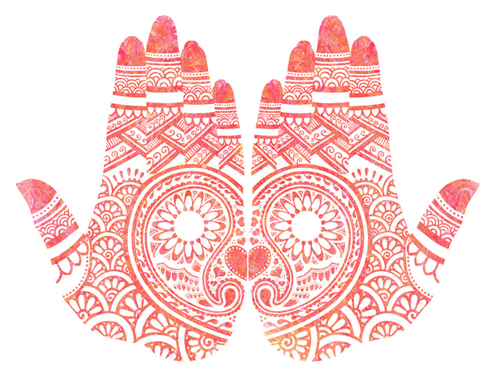 eatsleepdraw:  Red Mehndi by Abby Rampling