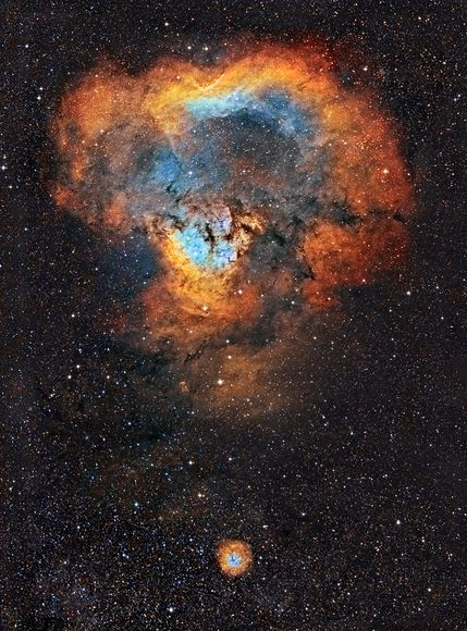 fyeahuniverse:  A Cosmic Curiosity: The Question Mark Nebula