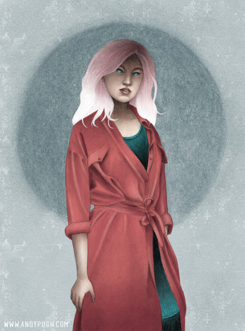 Illustration for the street fashion blog La Mode Outré. Photo, Illustration & Interview here.