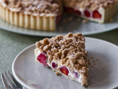 Strawberry Cream Cheese Crumble TartA decadent streusel topping adds a unique twist to this strawberry tart. Get the recipe!