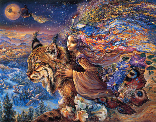 Flight of the Lynx by Josephine Wall (got this one)