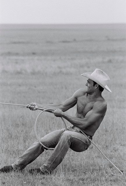 Good lord. This is why every woman on the planet has a cowboy fantasy.