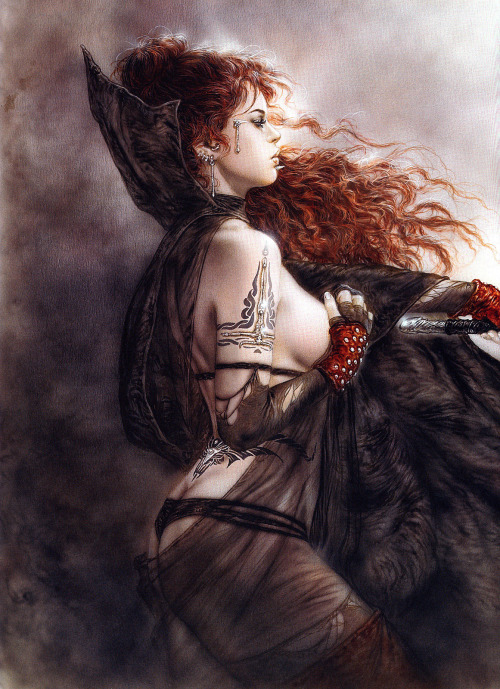 The Five Faces of Hecate by Luis Royo