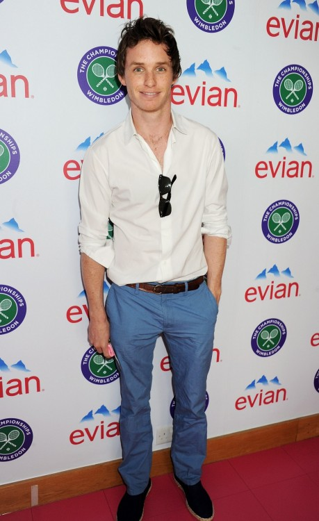 09231204:  High-res. Eddie Redmayne, The evian 'Live young' VIP Suite At Wimbledo, 25 Jun 2012