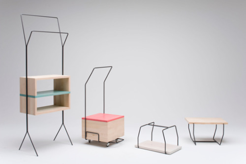 Maisonnette by Italian designer Simone Simonelli. i've noticed a trend lately in this aesthetic; this sort of quirky, almost humanistic, and airy feel. i really enjoy these pieces and the others that i've seen that are in a similar aesthetic. keep moving. will